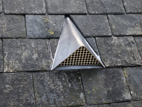 Standard Lead Vents For Pitched Roofs Just Lead Workshop
